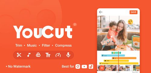 YouCut – Video Editor & Video Cutter, No Watermark v1.333.84.HW