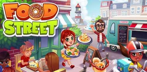 Food Street – Restaurant Management & Cooking Game v0.43.3 + data