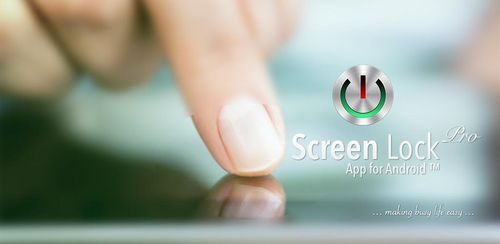 Screen Lock Pro v5.0.1p