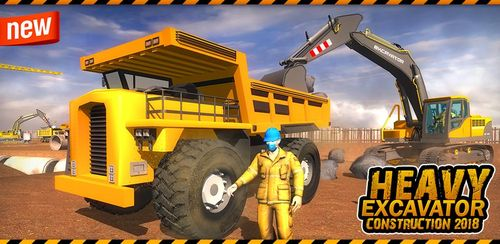 City Heavy Excavator: Construction Crane Pro 2018 v1.0.5