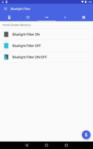 تصویر محیط Bluelight Filter License Key v3.2.6