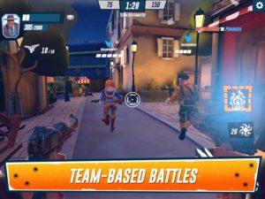 تصویر محیط Heroes of Warland – PvP Shooter Arena v1.8.2 + data