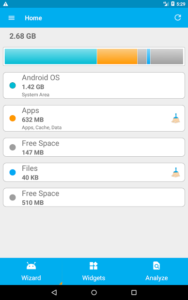 تصویر محیط Storage Partitions Premium v23.1.7