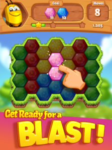 تصویر محیط Bee Brilliant Blast v1.28.1