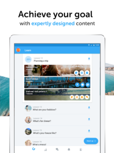 تصویر محیط busuu – Easy Language Learning v16.2.0.26