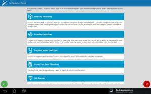 تصویر محیط Inventory & Barcode scanner & WIFI scanner v6.27