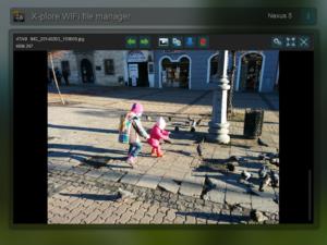 تصویر محیط X-plore File Manager v4.19.01
