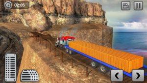 تصویر محیط Uphill Gold Transporter Truck Drive v1.5