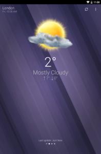 تصویر محیط WeatherPro v5.1.6