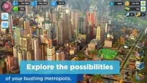 تصویر محیط SimCity BuildIt v1.28.2.87555