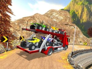 تصویر محیط Vehicle Transporter Trailer Truck Game v1.2