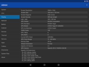 تصویر محیط AIDA64 Premium v1.68