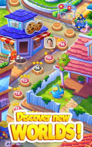 تصویر محیط Cookie Cats Blast v1.28.2