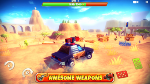 تصویر محیط Zombie Offroad Safari v1.2.1 + data