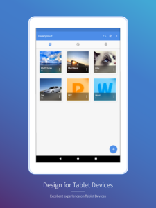 تصویر محیط Gallery Vault – Hide Pictures And Videos v3.14.74