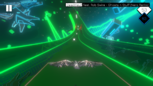 تصویر محیط Music Racer v9
