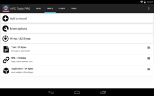 تصویر محیط NFC Tools – Pro Edition v7.1
