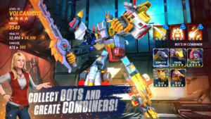تصویر محیط Transformers: Earth Wars v1.73.0.555