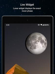 تصویر محیط Phases of the Moon pro v6.0.10