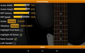 تصویر محیط Guitar Riff Pro v158