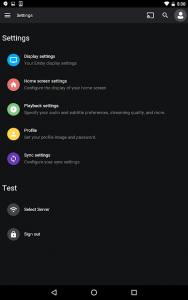 تصویر محیط Emby for Android v3.1.23