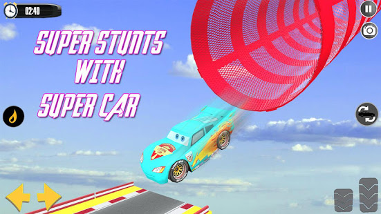 Splashy Superhero Vertigo racing : lightning car v1.3