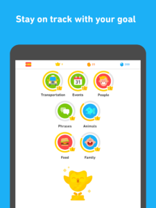 تصویر محیط Duolingo: Learn Languages Free v4.64.4
