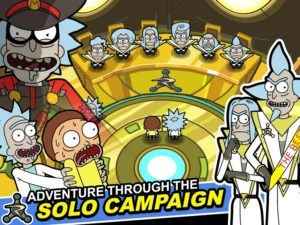تصویر محیط Rick and Morty: Pocket Mortys v2.24.1