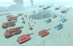 تصویر محیط Army Battle Simulator v1.3.00