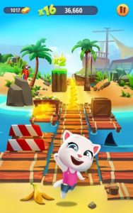 تصویر محیط Talking Tom Gold Run 3D Game v4.7.0.766