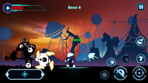 تصویر محیط Stickman Ghost 2: Galaxy Wars v6.5