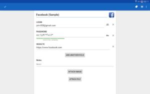 تصویر محیط Password Manager SafeInCloud™ v19.2.0