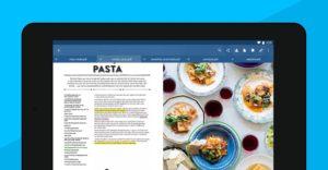 تصویر محیط Xodo PDF Reader & Editor v4.8.0