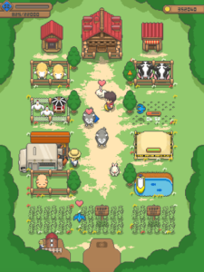 تصویر محیط Tiny Pixel Farm – Simple Farm Game v1.4.11