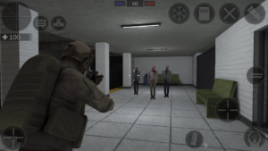 تصویر محیط Zombie Combat Simulator v1.3.9 + data