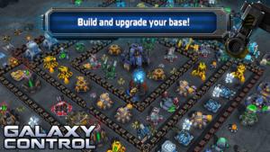 تصویر محیط Galaxy Control: 3D strategy v9.7.90