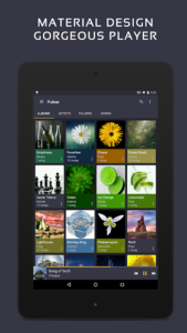 تصویر محیط Pulsar Music Player Pro v1.9.1 build 160