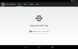 تصویر محیط NFC Tools – Pro Edition v7.0