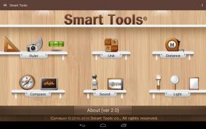 تصویر محیط Smart Tools v2.1 build 112