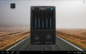 تصویر محیط Equalizer & Bass Booster Pro v1.6.5