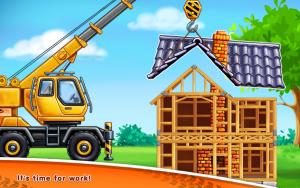 تصویر محیط Truck games for kids – build a house 🏡 car wash v0.7.3
