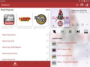 تصویر محیط myTuner Radio App – Free FM Radio Station Tuner v7.9.57