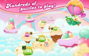 تصویر محیط Candy Crush Jelly Saga v2.20.5