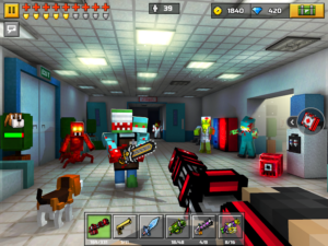 تصویر محیط Pixel Gun 3D (Pocket Edition) v17.2.0 + data