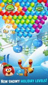 تصویر محیط Angry Birds POP Bubble Shooter v3.89.0