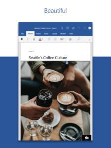 تصویر محیط Microsoft Word v16.0.13530.20130