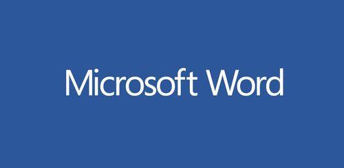 Microsoft Word v16.0.12527.20090