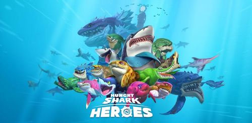 Hungry Shark Heroes v3.4 + data