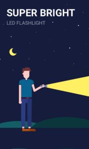 تصویر محیط Power Light – Flashlight with LED Reminder Light v1.7.7