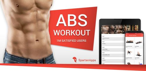 Spartan Six Pack Abs Workouts & Exercises PRO v3.3